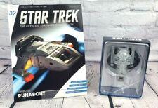 More details for eaglemoss collections star trek magazine issue 32 & starfleet runabout model