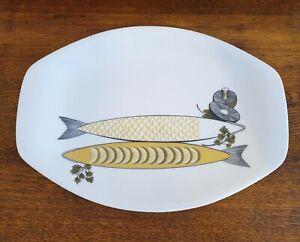 Retro Melmac Bessemer Large Fish serving platter