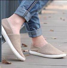 Men's Breathable Driving Mesh Breathable Summer Shoes Hot British Slip ON Loafer