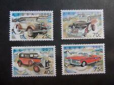 Aruba 2001 Motor Cars SG291/4 UM MNH unmounted mint