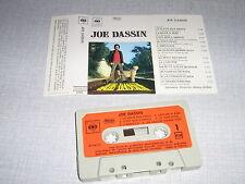 JOE DASSIN K7 AUDIO FRANCE LA FLEUR AUX DENTS