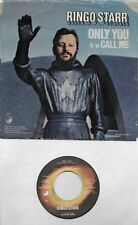 RINGO STARR  Only You / Call Me  45 with PicSleeve  THE BEATLES