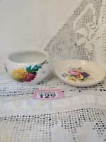 GUILD CRAFTS POOLE Vintage Small Ceramic Plate & Similar Bowl