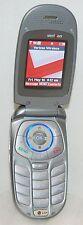 LG VX5300 Verizon Wireless Flip Open Bluetooth Ready GRAY Cell Phone VGA Camera