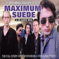 Suede : Maximum Suede CD (2002) ***NEW*** Highly Rated eBay Seller, Great Prices