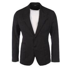 Dolce&Gabbana Button Linen Regular Coats & Jackets for Men
