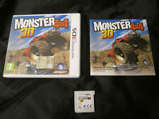 3DS : MONSTER 4X4 3D - Completo, ITA ! Compatibile 2DS e New 3DS XL