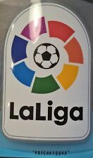 Patch Espagne La liga  spanish maillot foot Real Madrid, Barcelone  16/17-17/18