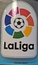 Patch Espagne La liga  spanish maillot foot Real Madrid, Barcelone  16/17-17/18
