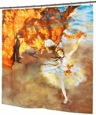 The Star By Edgar Degas Fabric Shower Curtain Ballerina Museum Collection