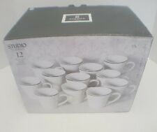 Gibson Studio Platinum 12 Cup Set