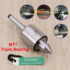 High quality Taper Lathe Precision Turning Revolving Live Rolling Centre MT1 New
