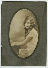 1925 Portrait of Minnie Lynn Evans (Sower), Frankfort, Kentucky, Eastland Studio