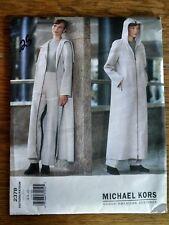 2378 Vogue Sewing Pattern, Long Coat & Lined Pants UNCUT Michael Kors 6-8-10