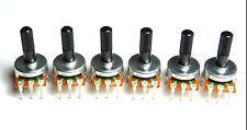 Roland TR-606 Rotary Potentiometer Upper INSTRU + ACCENT (6pc) Spare Parts TR606