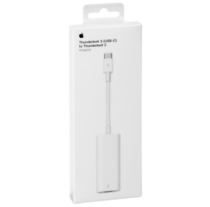 Apple Thunderbolt 3 (USB-C) to Thunderbolt 2 Adapter MMEL2ZMA A1790