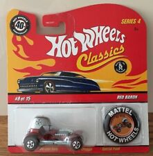 HOT WHEELS REDLINE CLASSICS COLLECTORS MODEL. RED BARON 08-15