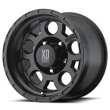 17 Inch Black Wheels Rims Jeep Wrangler JK XD Series 2007-2017 5x5 Lug SET of 4