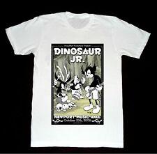 Vintage Dinosaur Jr. Concert Poster S-234XL White Men Cotton T-shirt AAA069