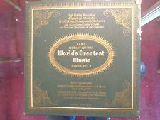 Basic Library of the WORLD'S GREATEST MUSIC - Album No 1  J80P 5532 - Classical