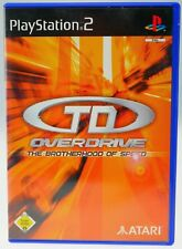 TD Overdrive The Brotherhood Of Speed Sony PlayStation 2 PS2 komplett OVP gut