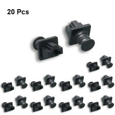 20pc RJ45 Dust Cover Protector Anti-Dust Dirt CAT5e/6/6A Ethernet Network Hub