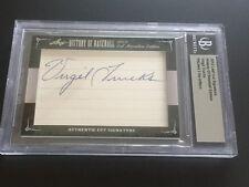 Virgil Trucks 2014 Leaf Cut Signature History of Baseball Auto Tigers  FREE SHIP