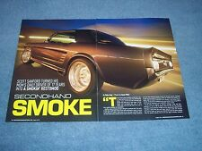 """1966 Ford Mustang Coupe Resto-Mod Article """"Secondhand Smoke"""" Notchback"""