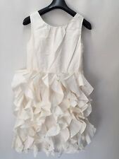 c6dff7ac53 J.Crew Crewcuts $188 Girls Silk Lyla Dress 12 wedding party ivory 43902 New