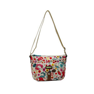 Lily Bloom Cristina Crossbody Love Colorful Kitten Kitty Cats Shoulder Bag New