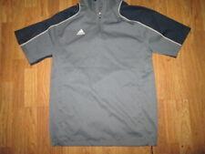 Mens Adidas quarter zip windbreaker shirt baseball golf sz M Md M