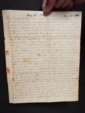 1840 Letter Signed to Ira C. Stoddard (New York/Vermont Baptist)