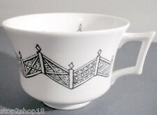 Wedgwood Rob Dawson After Willow Tea Cup Blue Lattice New