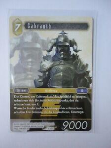 Final Fantasy Karte  tcg OPUS II - Gabranth 2-081L - LEGENDE / Unfoil -