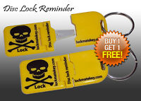 Disc lock reminder (Metal Tip) Motorcycle Accessories