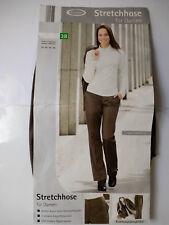 Damen Stretchhose Stretch Hose Gr. 38 Cecilia Classics tolle Qualität Braun NEU