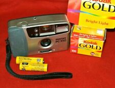 Pentax PC-550/Date 28mm wide point and shoot - Bright Large Viewfinder Batt&Film