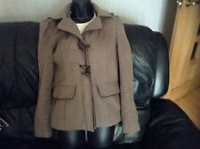 New Look Hooded Duffle Jacket Size 10