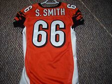 Bengals Orange Game Issued / Used Jersey ( Shaun Smith)