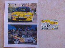 MAXI MEGANE KIT CAR RALLYE DE CATALUNYA 1996 ORIOL GOMEZ 1/43