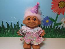 "BIRTHDAY GIRL - 8"" Russ Troll Doll - NEW IN ORIGINAL WRAPPER - Rare"