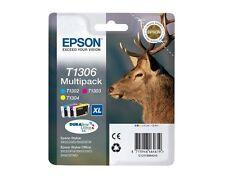 Epson t1306 Cian Magenta Amarillo sx525wd bx525wd Set 3
