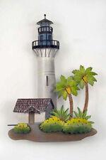 Wall Sculptures - Key West Lighthouse Metal Wall Sculpture - Nautical Decor