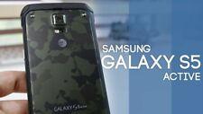 New Samsung Galaxy S5 Active G870A - 16GB Unlocked Smartphone/Camo Green/16GB