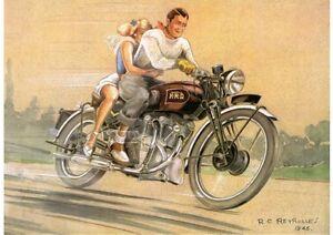 1946 Vincent Series B Rapide poster