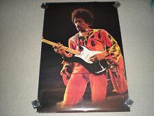"""super rare/htf 1973 Jimi Hendrix """"Jimi In Red"""" poster -grt cond 36 1/2 / 24 1/2"""