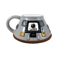 Smithsonian Apollo 11 Module 20 oz. Sculpted Ceramic Mug Gift Coffee USA Moon