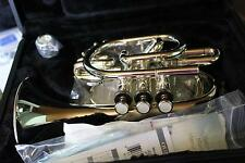 Jupiter Model JPT-516S Pocket Trumpet In Silver Plate BRAND NEW QuinnTheEskimo