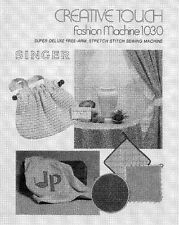 Singer 14U32-14U32A Sewing Machine/Embroidery/Serger Owners Manual