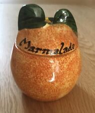 Toni Raymond Hand Painted Vintage Pot For Marmalade - Mint
